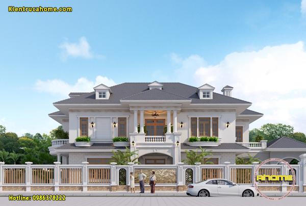 Biệt thự 2 tầng Tân cổ điển đẹp AH20073(CĐT: Ông Thanh- Thanh Hóa)