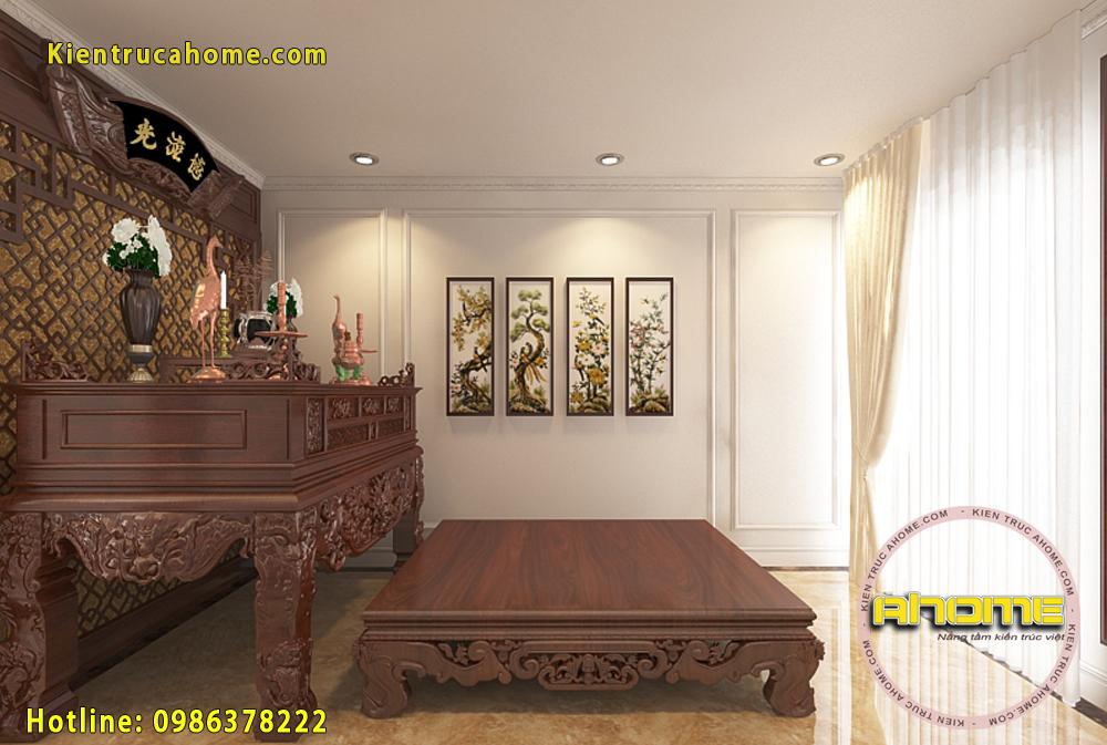 Mẫu nội thất biệt thự tân cổ điển sang trọng NT20015(CĐT: Ông Huy- Hải Dương)