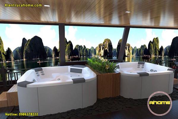 Mẫu nội thất khách sạn tuyệt đẹp View biển NT20014(CĐT: Ông Đức- Hạ Long)