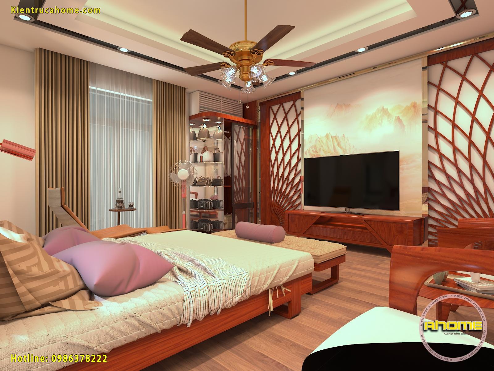 Mẫu thiết kế Nội thất biệt thự Hiện đại sang trọng NT20023(CĐT: Bà Huấn- TPHCM)