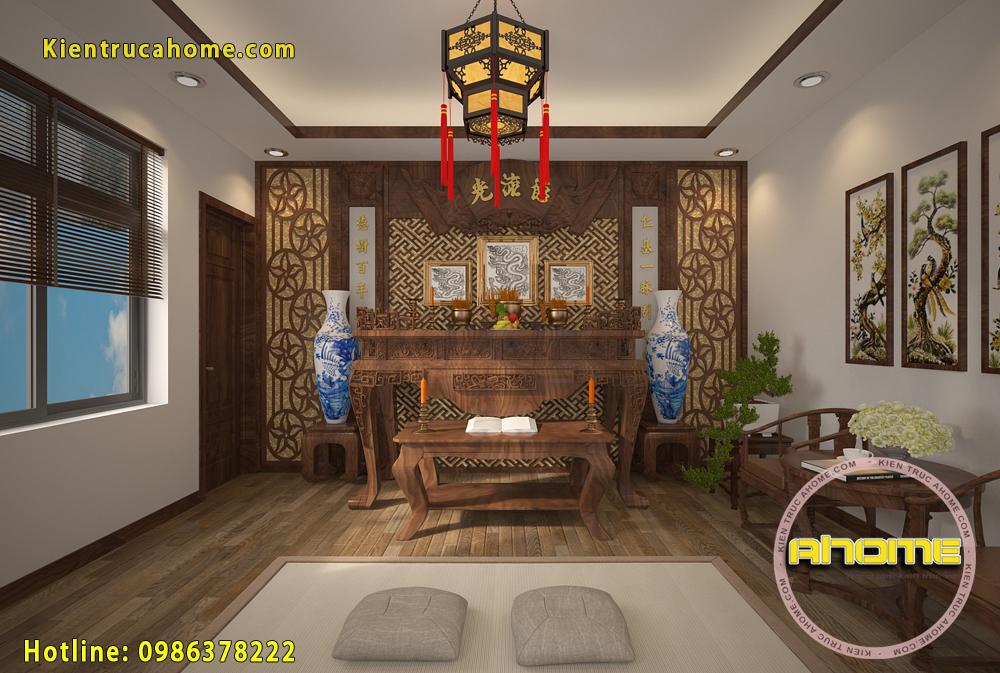 Nội thất biệt thự Hiện đại với gỗ óc chó NT20006(CĐT: Ông Yên- Lào Cai)