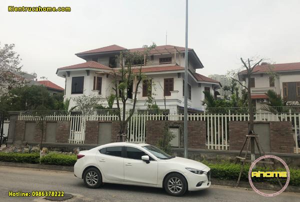 Thi công biệt thự 3 tầng tại Hà Nội(CĐT: Ông Vũ- HN)