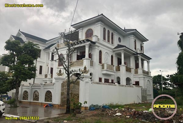 Thi công biệt thự tại Quảng Ninh(CĐT: Ông Quang- Móng Cái)