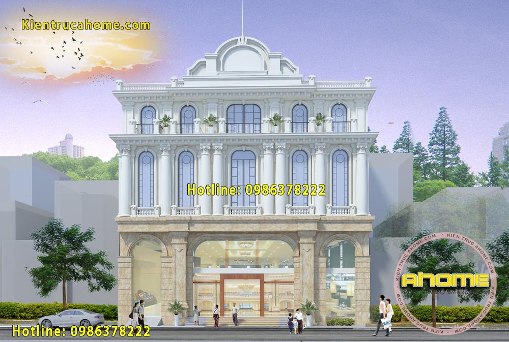 Thiết kế khách sạn cổ điển đẹp tại Phú Quốc AH20027(CĐT: Ông Vũ- Phú Quốc)
