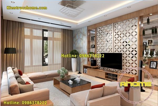 Thiết kế nội thất biệt thự Hiện đại NT20018(CĐT: Ông Thùy- Thanh Hóa)