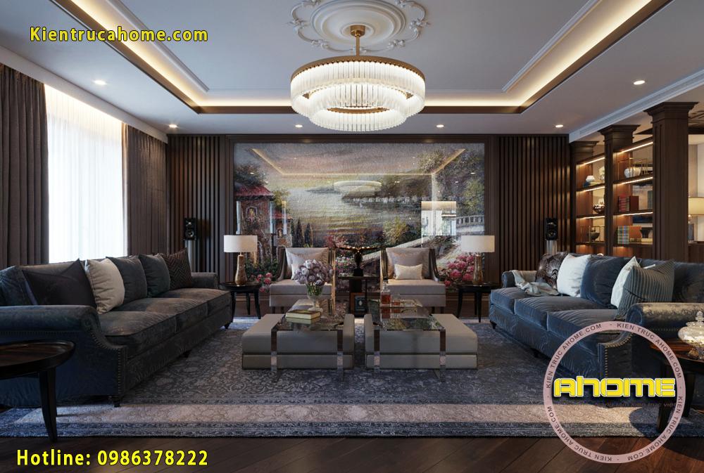 Thiết kế Nội thất Penhouse Hiện đại cực đẹp NT20024(CĐT: Bà Thủy- HN)