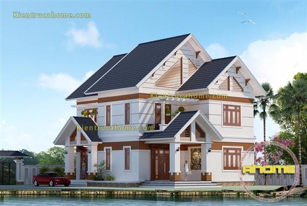 Biệt thự 2 tầng nhà vườn AH20084(CĐT: Ông Bắc- Hậu Giang)