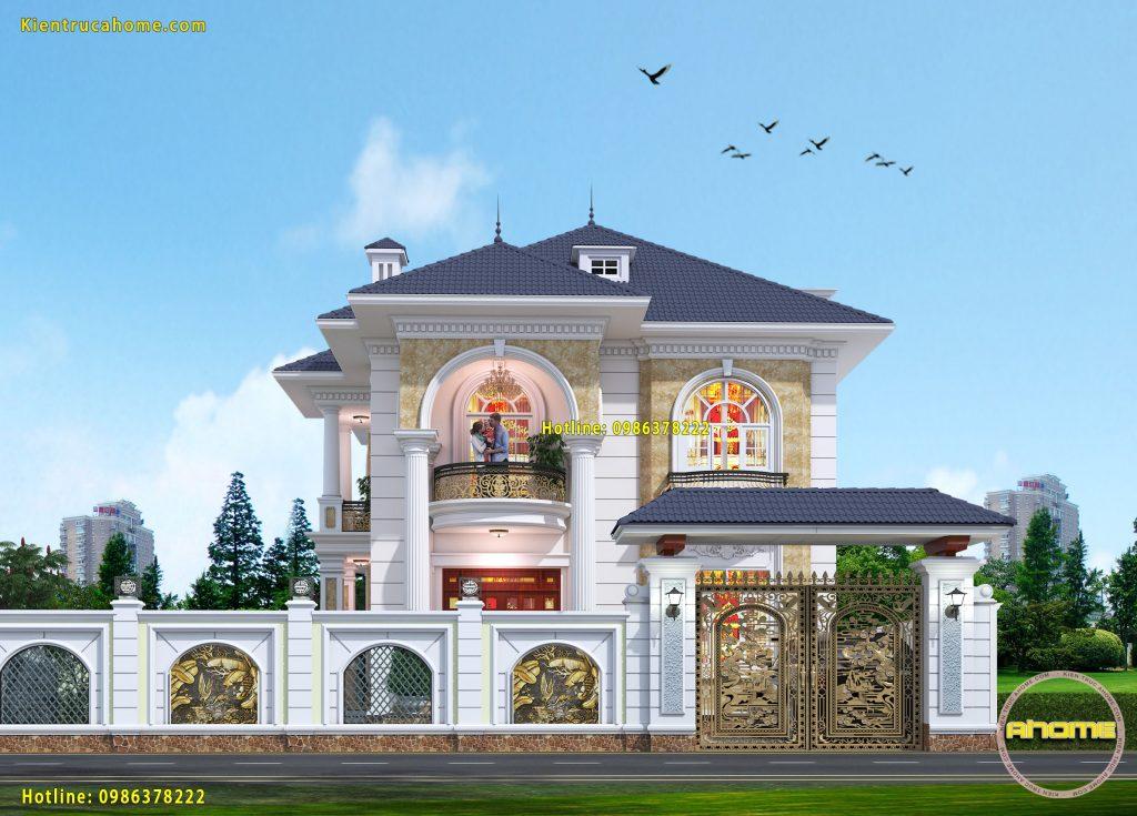 Công ty chuyên thiết kế biệt thự đẹp đẳng cấp uy tín