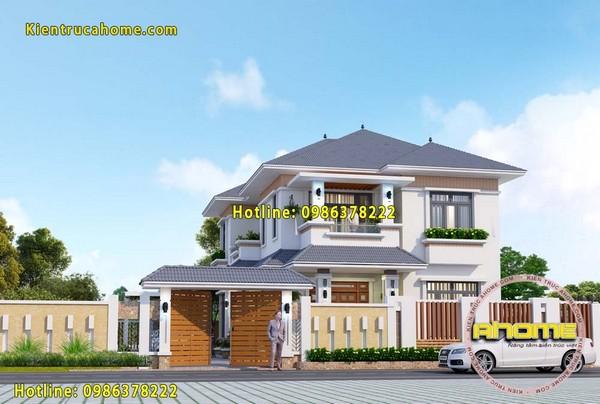Công ty thiết kế nhà biệt thự đẹp theo phong thủy