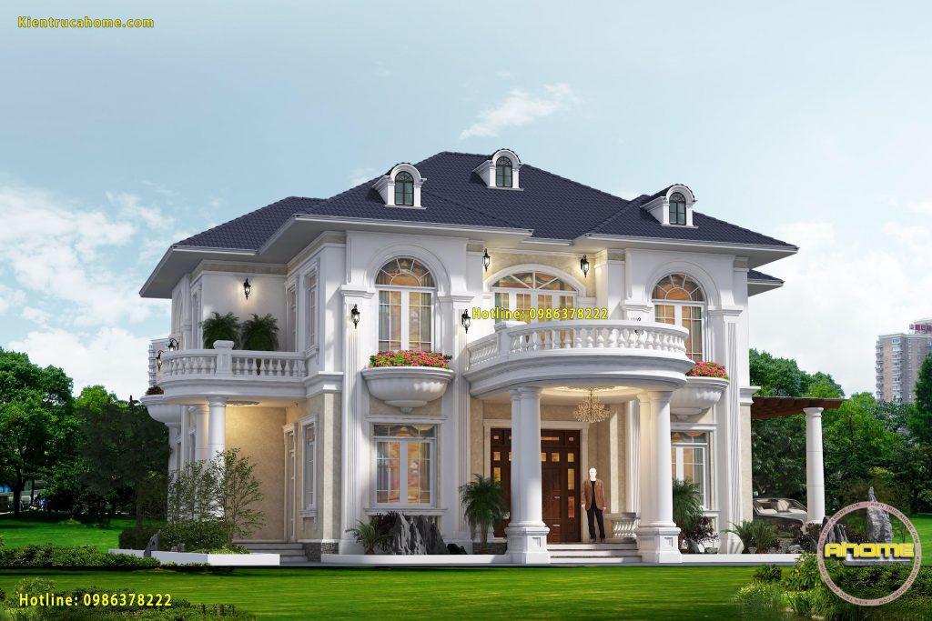 Công ty chuyên tư vấn thiết kế nhà biệt thự 2 tầng uy tín