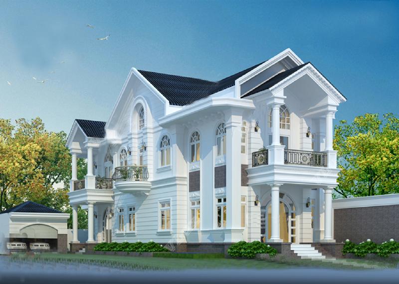 10 mẫu thiết kế biệt thự mini 2 tầng đẹp được ưa thích nhất
