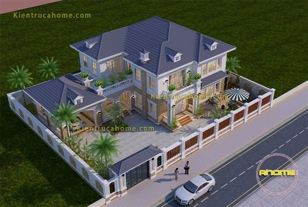Các mẫu thiết kế biệt thự nhà vườn ấn tượng và bắt mắt nhất