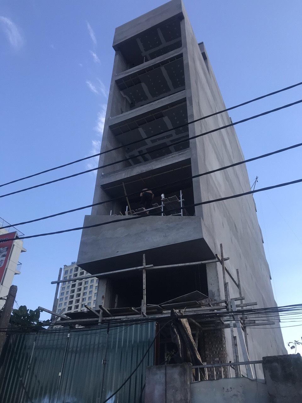 Thi công nhà 7 tầng tại Hà Nội(CĐT: Bác Đạt- HN)