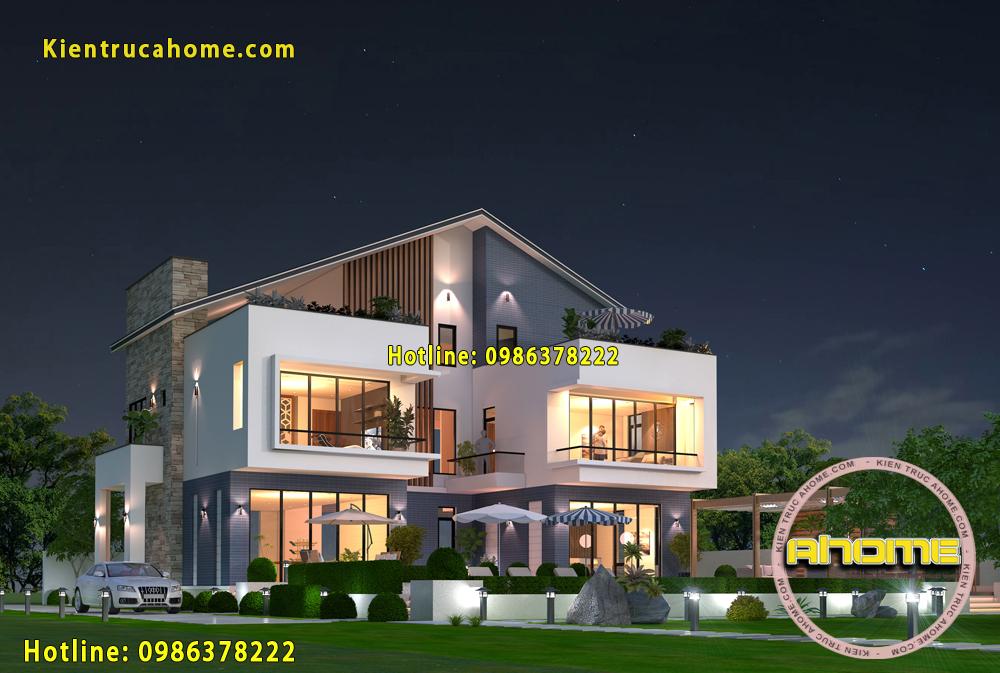 5 mẫu thiết kế biệt thự đơn lập đẹp