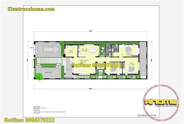 Biệt thự 1 tầng Hiện đại mái thái AH20104(CĐT: Ông Hảo- Thái Bình)
