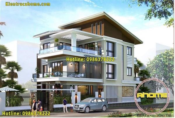 Những mẫu thiết kế biệt thự 3 tầng đẹp nhất Việt Nam