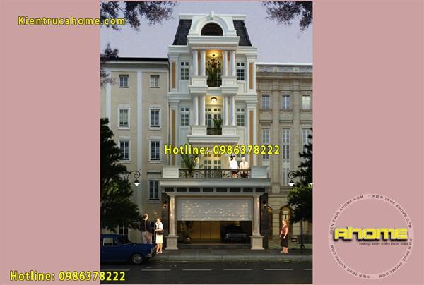 10 mẫu thiết kế khách sạn kiểu Pháp đẹp sang trọng, đẳng cấp nhất Việt Nam