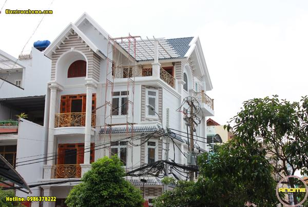 Thi công mẫu nhà phố 4 tầng tại Bình Tân TC20042