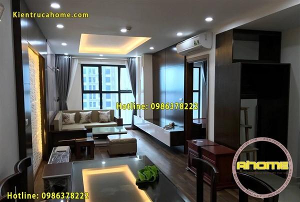 Thi công nội thất chung cư cao cấp TC18016(CĐT: Ông Luận- HN)