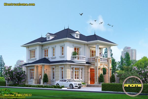 Những mẫu biệt thự 2 tầng đẹp giá rẻ có mức đầu tư dưới 1 tỷ đồng