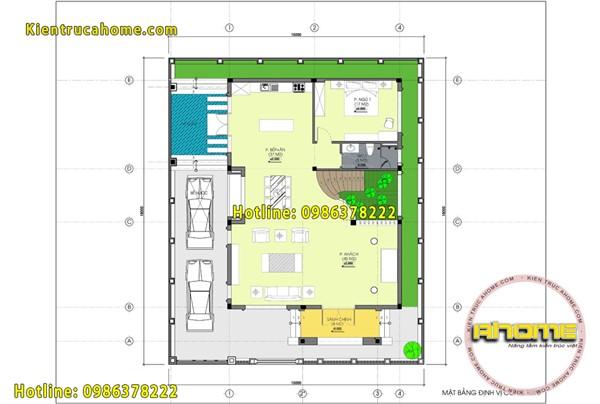 Mẫu biệt thự Hiện đại 3 tầng mái thái AH20128(CĐT: Ông Tùng- Hà Nội)