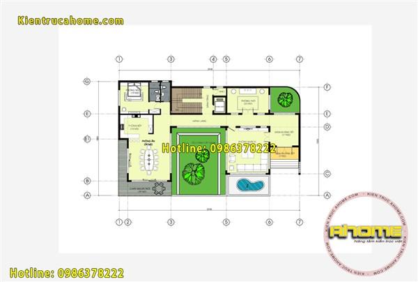 Mẫu biệt thự 3 tầng Hiện đại đẹp đẳng cấp AH20117(CĐT: Ông Thắng- Thái Nguyên)