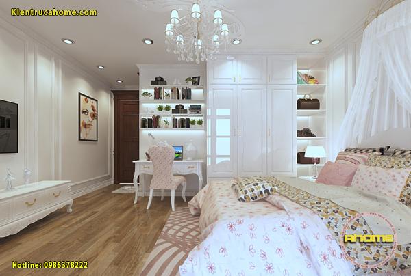 Mẫu nội thất phòng ngủ của con cực đẹp
