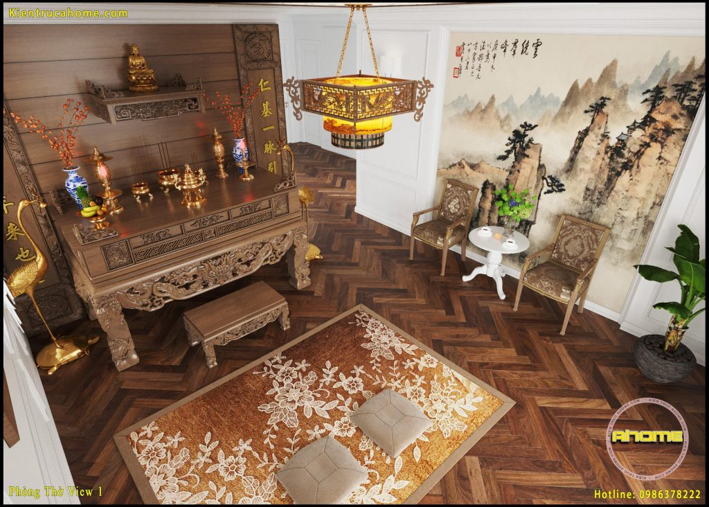 Mẫu nội thất Tân cổ điển NT20030(CĐT: Bà Huyền- Bình Dương)