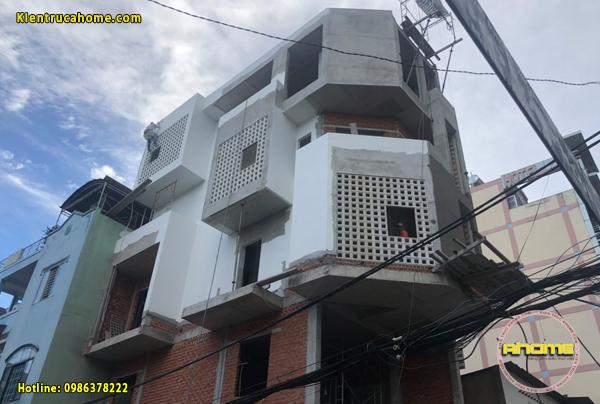 Thi công nhà phố 5 tầng tại TPHCM(CĐT: Ông Ninh- TPHCM)