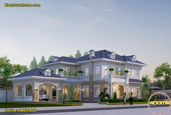 6 Phong cách thiết kế biệt thự 2 tầng đẹp bạn có thể tham khảo.