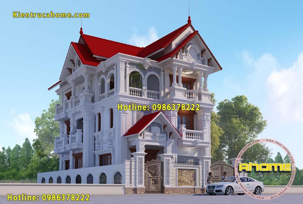 Biệt thự 3 tầng cổ điển có gì đặc biệt?-1