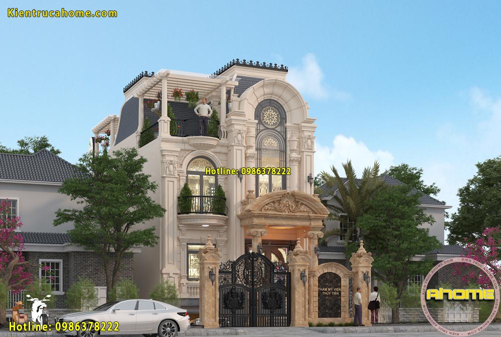 Biệt thự 3 tầng cổ điển có gì đặc biệt?-3