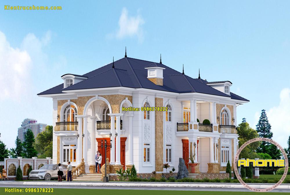 các mẫu nhà 2 tầng đẹp nhất Hiện nay-4