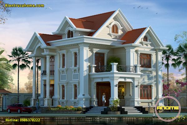 Các mẫu nhà đẹp 2 tầng phù hợp từ nông thôn đến thành thị
