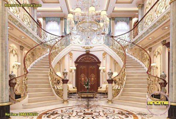 Mẫu nội thất biệt thự cổ điển hoàng gia NT20043(CĐT: Ông Kỳ- Vĩnh Long)