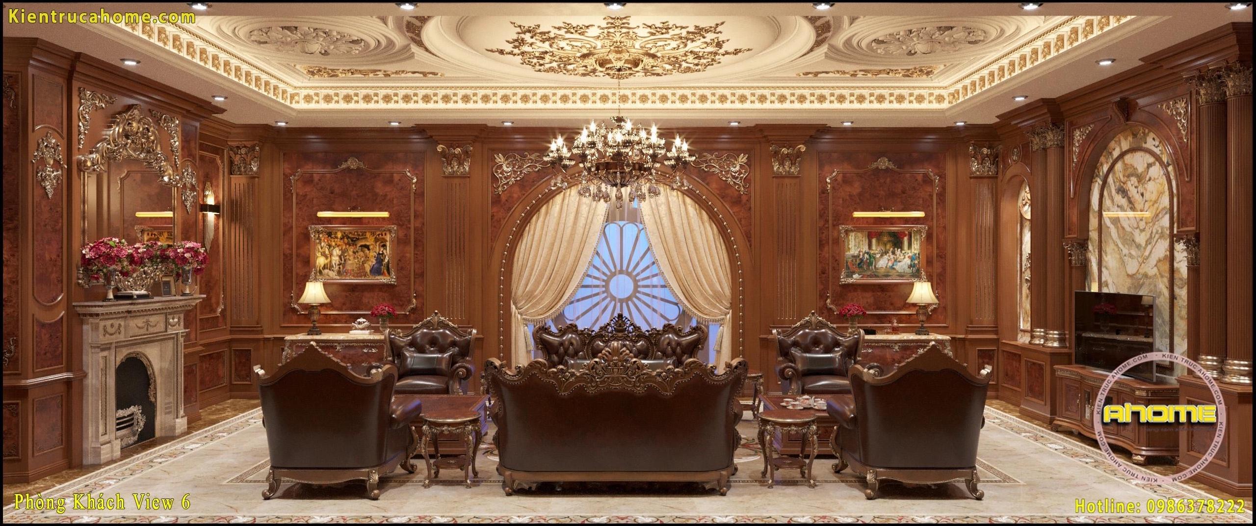 Mẫu nội thất cổ điển gỗ-6