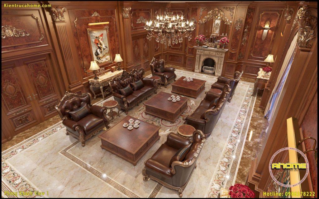 Mẫu nội thất cổ điển gỗ NT20041(CĐT: Ông Dũng-HN)