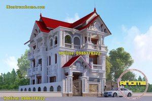 Đặc trưng và ưu điểm của mẫu biệt thự 3 tầng cổ điển