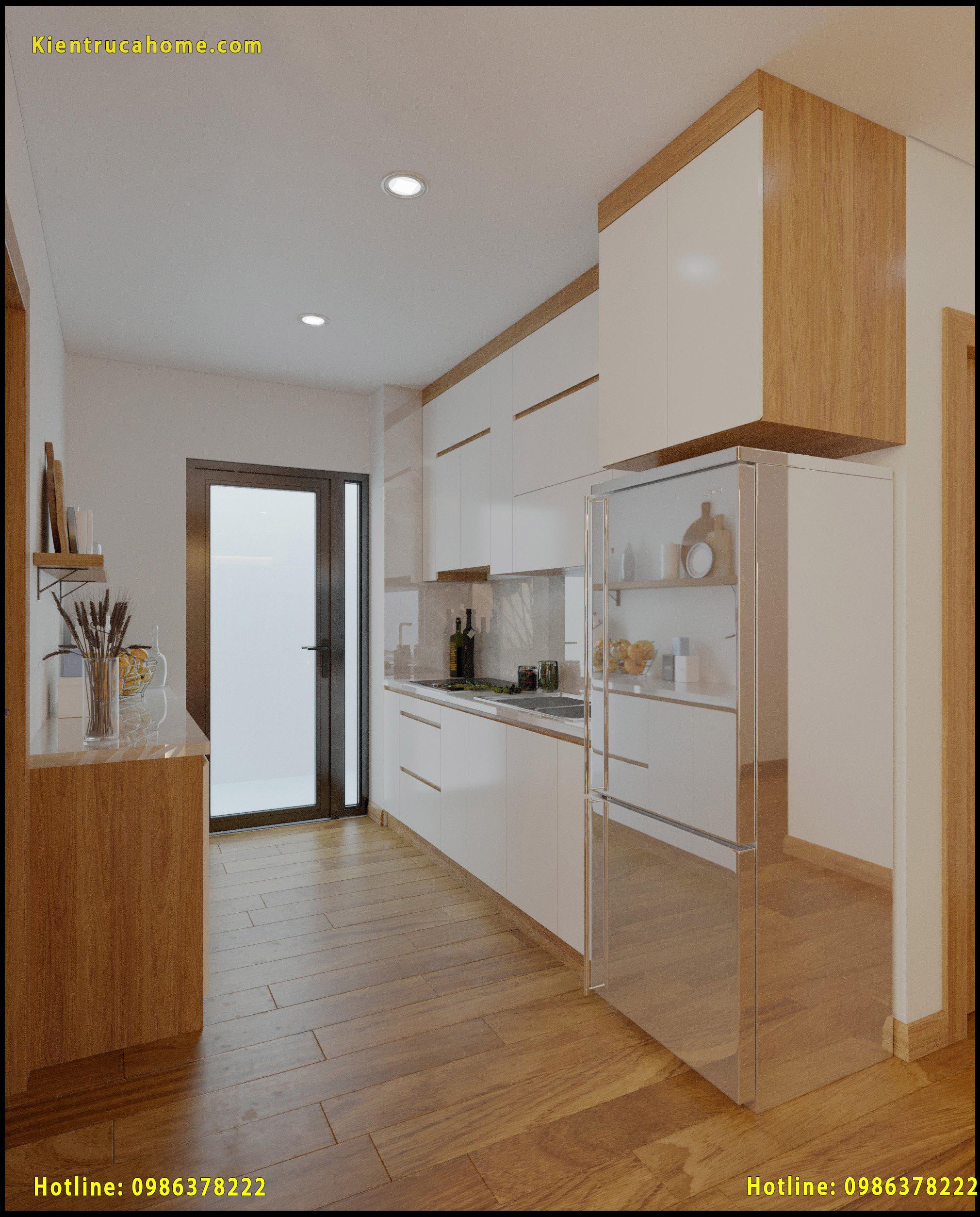 mẫu nội thất chung cư 2 phòng ngủ