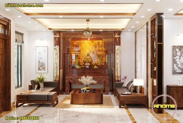 Mẫu nội thất Hiện đại gỗ sồi Mỹ cao cấp NT20046(CĐT: Ông Qúy- Sóc Sơn)