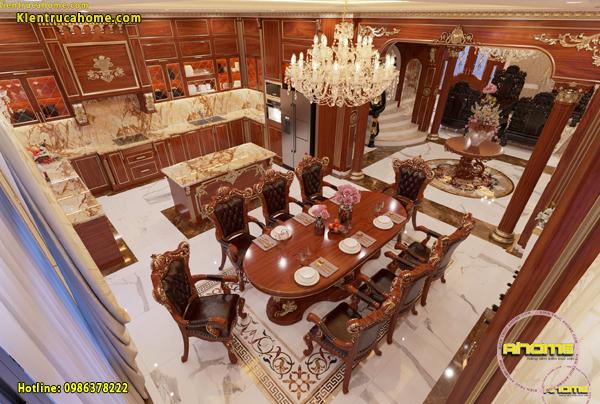 Mẫu nội thất cổ điển hoàng gia sang trọng NT21011(CĐT: Bà Phương- Lào Cai)