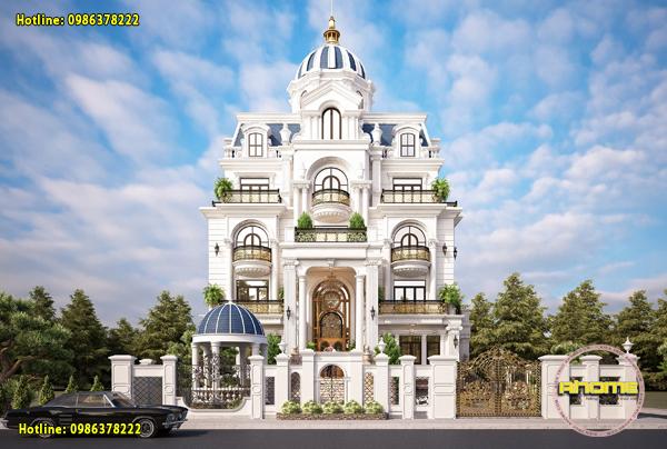 Mẫu lâu đài Mini 5 tầng AH21025(CĐT: Ông Vịnh- Quảng Trị)