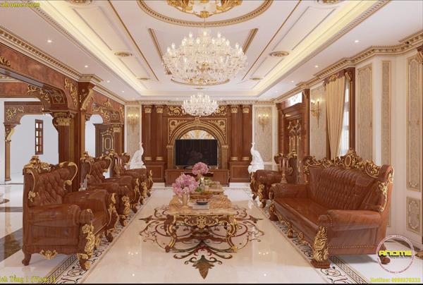 Mẫu nội thất cổ điển hoàng gia NT21014(CĐT: Ông Vịnh- Hưng Yên)