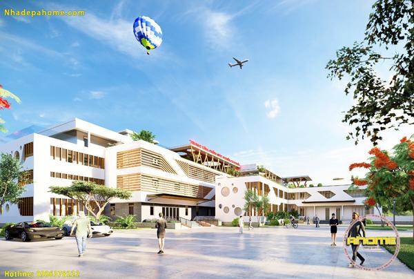 Thiết kế dự án Trung tâm chăm sóc người cao tuổi cao cấp tại Sóc Sơn